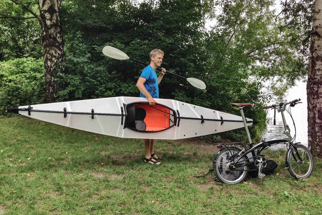 Folding Bike And Folding Kayak Cyclepeter