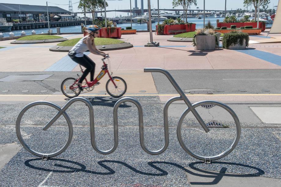 Bike Stand Victoria Harbour