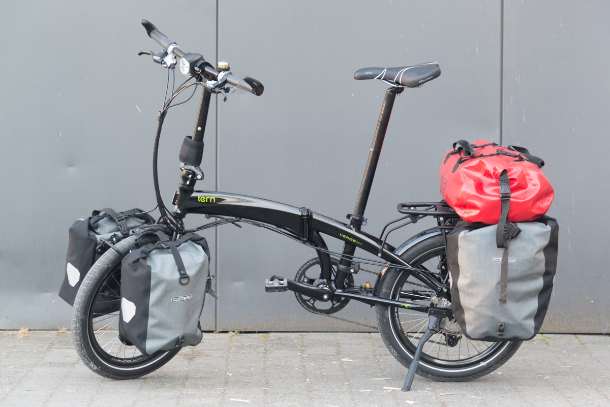 Tern Verge S27h Folding Touring Bicycle A First Review Cyclepeter
