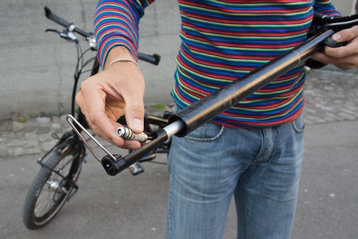 am bike part pump