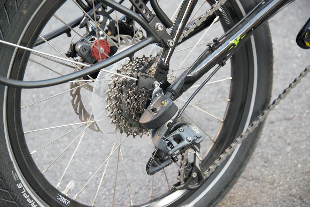 Tern Verge S27 gears