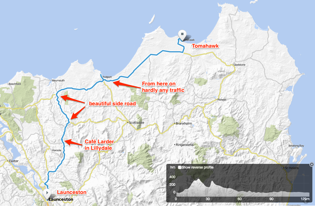 Tasmania__day_1_-_Bikemap_-_Your_bike_routes_online 2