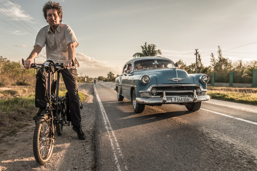 Not just the most beautiful cars in the world, but also - take my word - the most safe country for cyclists. I have never met car drivers that patient and caring. Cyclist's paradise!