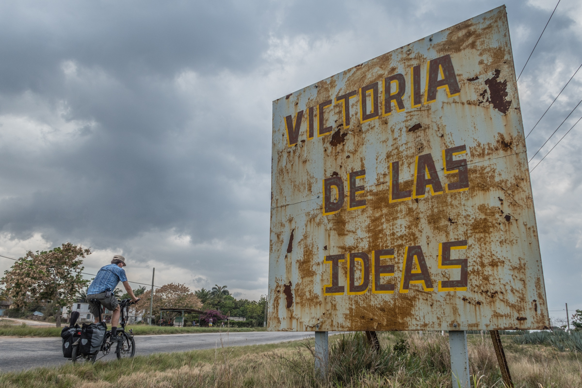 The victory of the ideas is rosting.