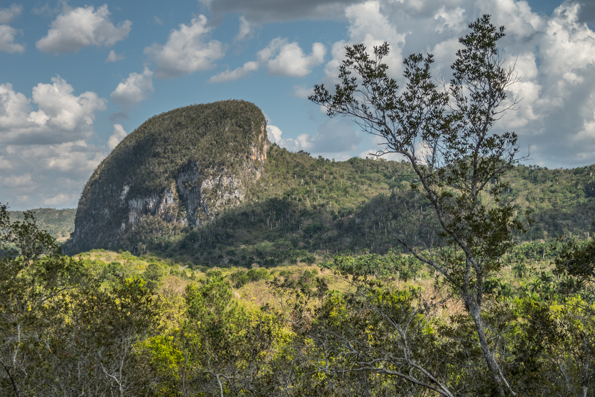 Mountains surrounding Vinales
