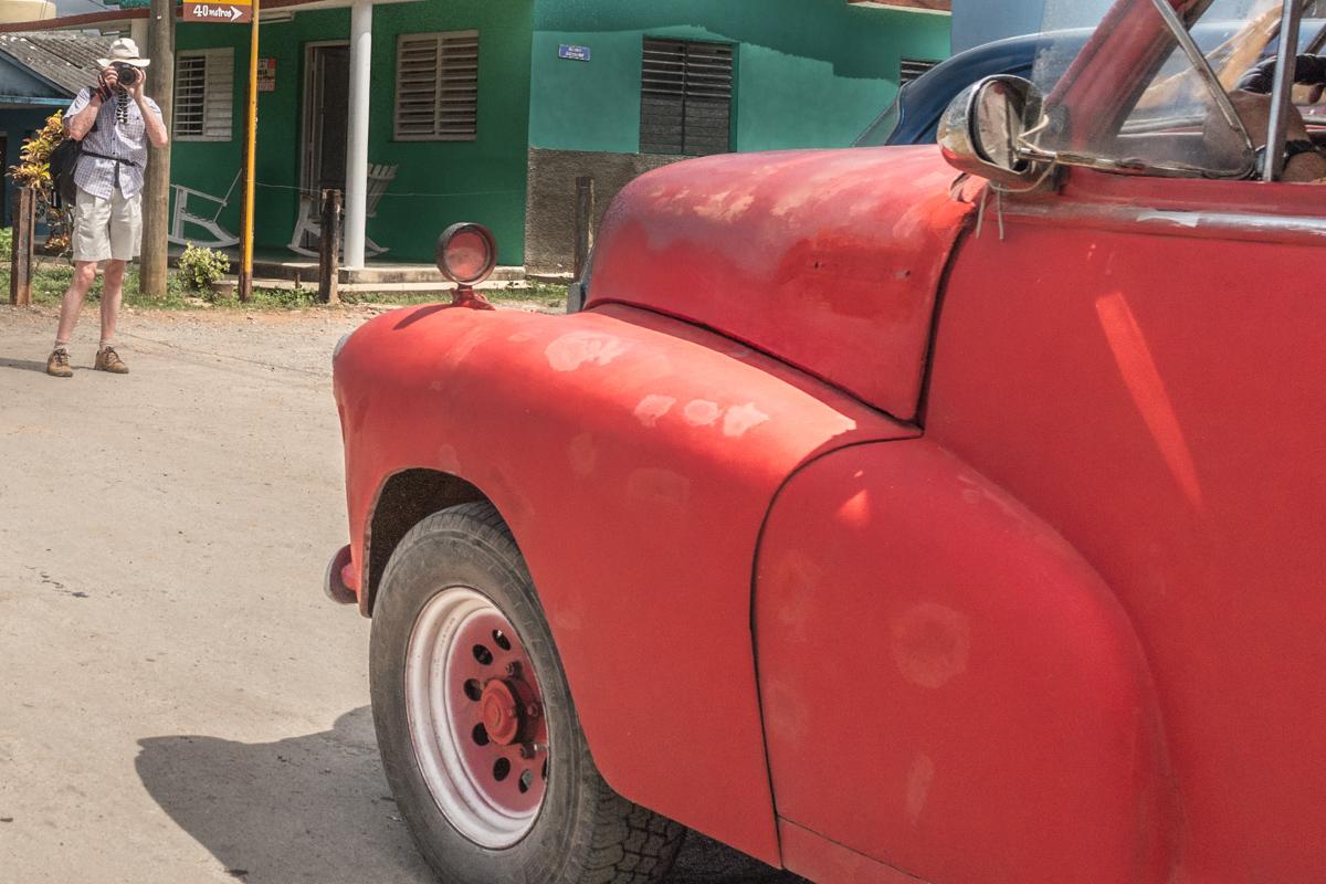 Cuba car photographer